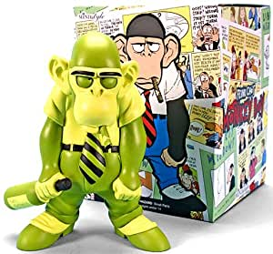 MINDstyle ToyFare Exclusive Limited Edition Frank Chos Neon Green Monkey Boy Variant