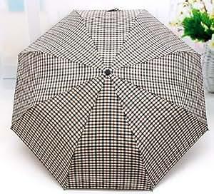 Rilkean Heart Men's business Plaid umbrella (1)
