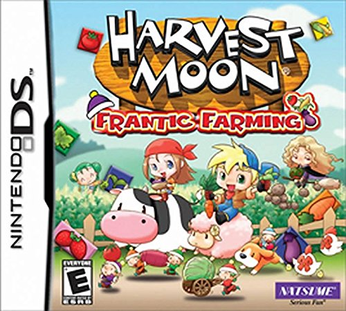 Amazon Harvest Moon Frantic Farming Nintendo Ds Video Games