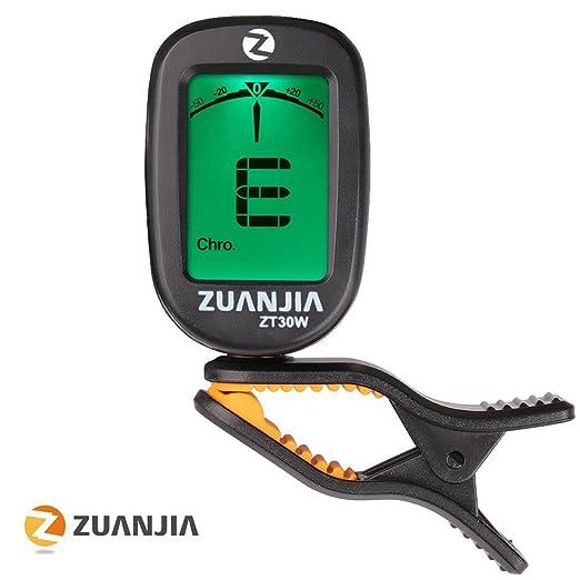 12 opinioni per Zuanjia Guitar Tuner Accordatore Cromatico Clip il Original 360° Grande Full
