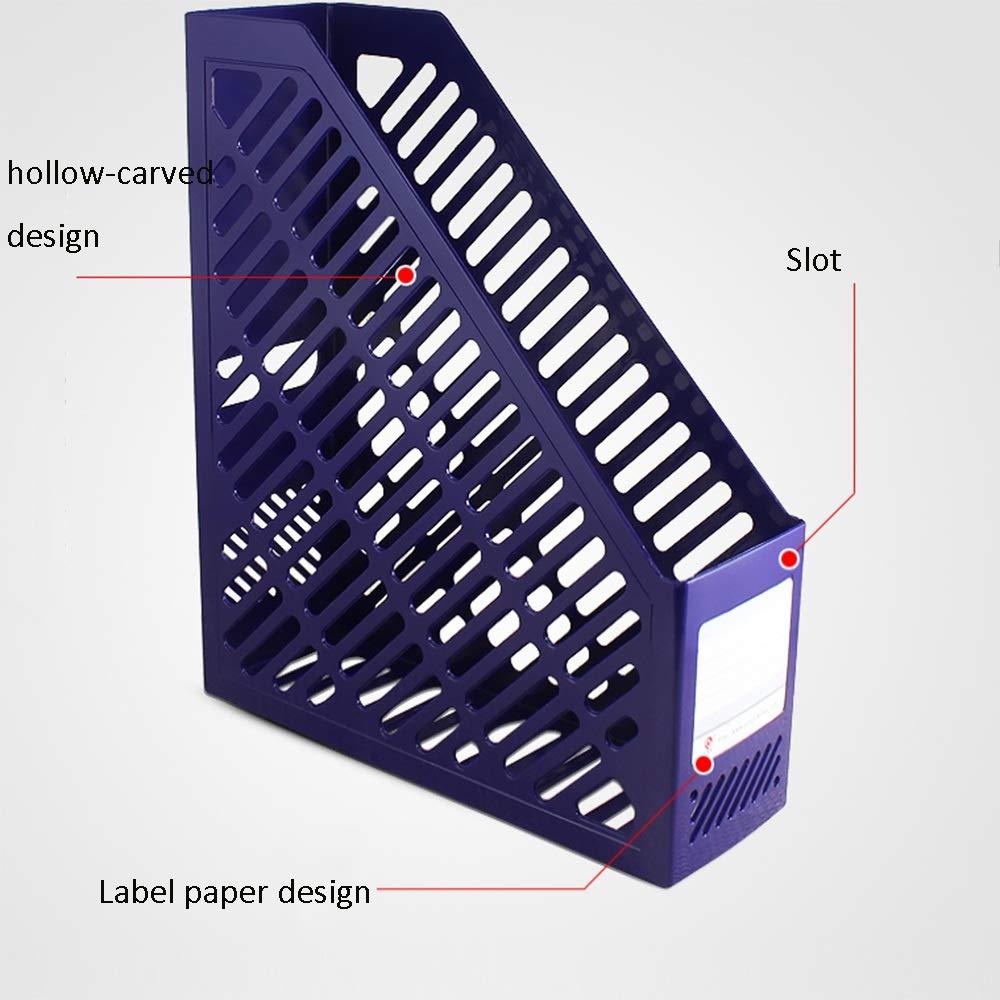 Ordner Aufbewahrungsbox Aufbewahrungsbox Aufbewahrungsbox PP-Material 3 Zoll Einzelnes Buch Ordner Verdicken Datei Box Tabelle Bürobedarf (3 pro Packung) B07LDPMTR6 | Einfach zu spielen, freies Leben  465f45