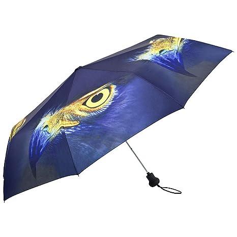 VON LILIENFELD Paraguas Bolsillo Mujer Automática Motivo Águila