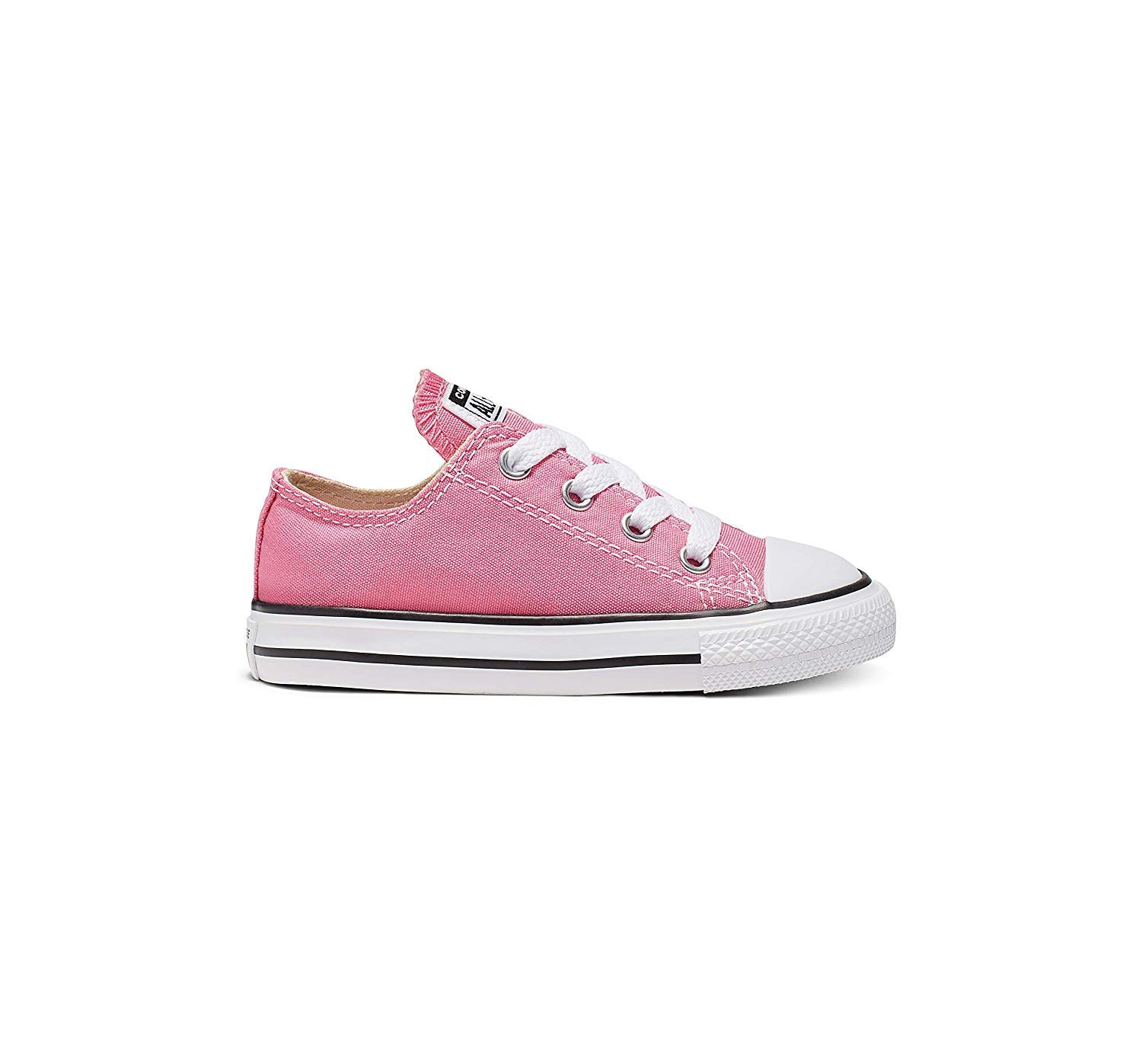 Converse Unisex-Child Chuck Taylor All Star  Low Top Sneaker, pink, 5 M US Toddler by Converse