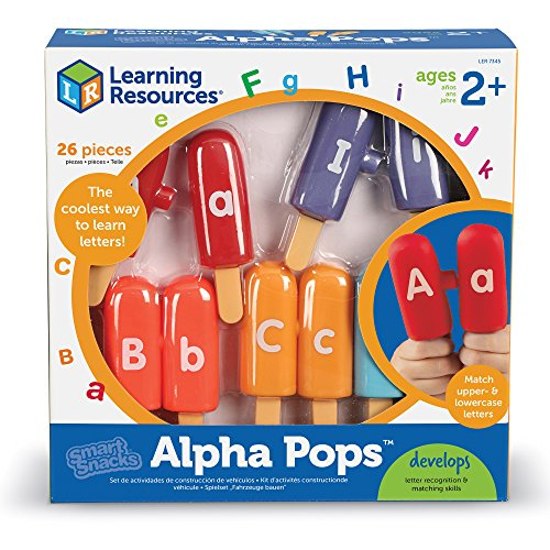 61rjYumqZ3L - Learning Resources Smart Snacks Alpha Pops, 26 Pieces
