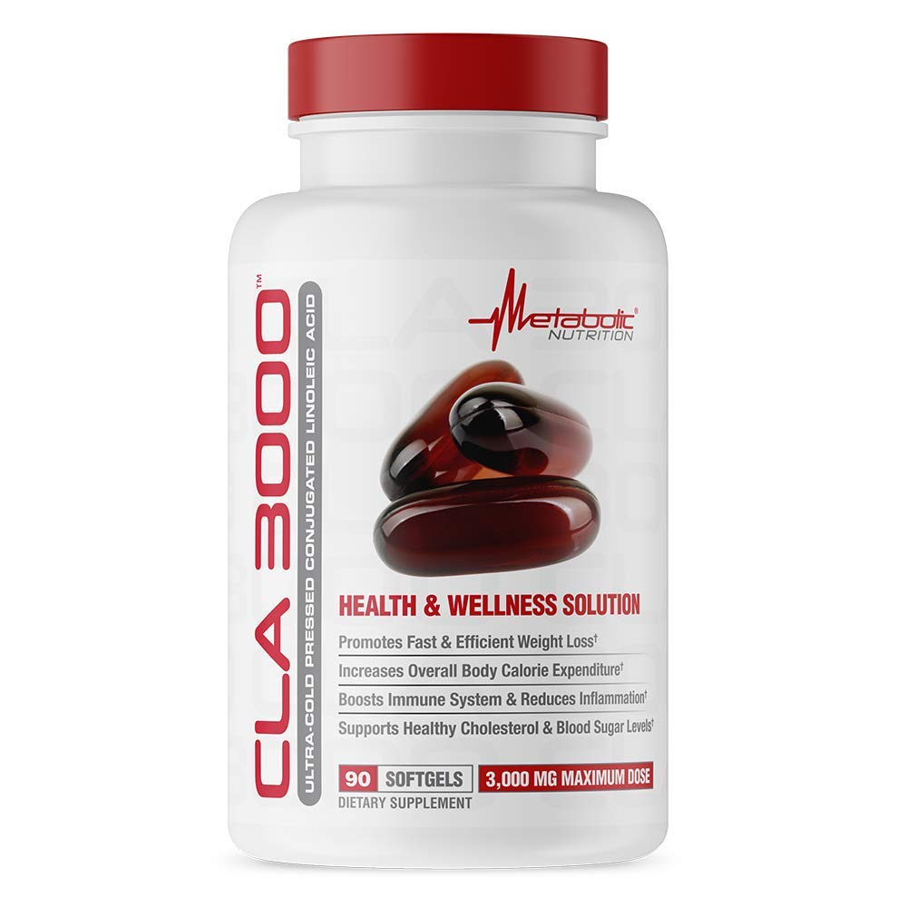Metabolic Nutrition CLA 3000 (90 Count)