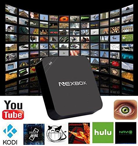 Greatever NEXBOX N9 Android 4 4 TV Box 1GB/8GB 4K Wifi Kodi