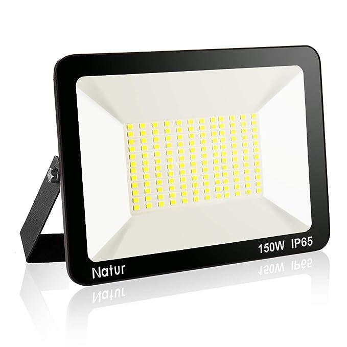 150W LED Foco exterior, Proyector Foco LED 6000K Blanco Frío ...