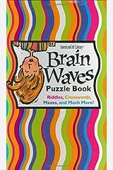 Brain Waves Puzzle Book Spiral-bound