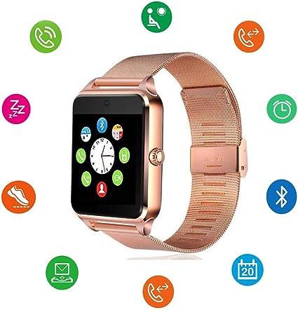 Amazon.com: Reloj inteligente Bluetooth DOROIM correa de ...