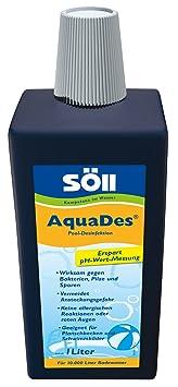 Söll 31430 - Productor para desinfectar el agua (1000 ml)