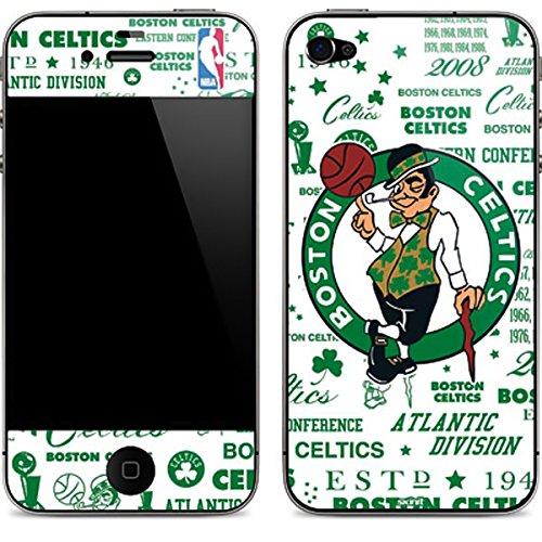 NBA Boston Celtics iPhone 4&4s Skin - Boston Celtics Historic Blast Vinyl Decal Skin For Your iPhone 4&4s