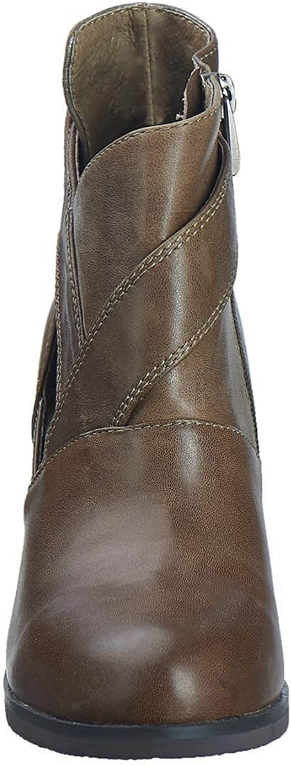Antelope Womens 601 Leather Sideview Bootie