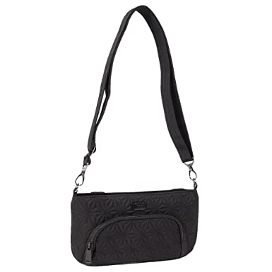 5f6b2bc91 Lug Women's Flyer Mini Cross-Body Bag Shoulder, MIDNIGHT BLACK, One Size