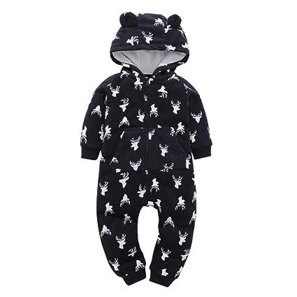 61cdfbd11 Amazon.com  ZLOLIA Baby Clothes Autumn Winter Infant Boy Girl ...