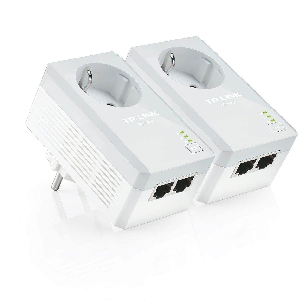 TP LINK TL PAPKIT Extensor de red por línea eléctrica con enchufe