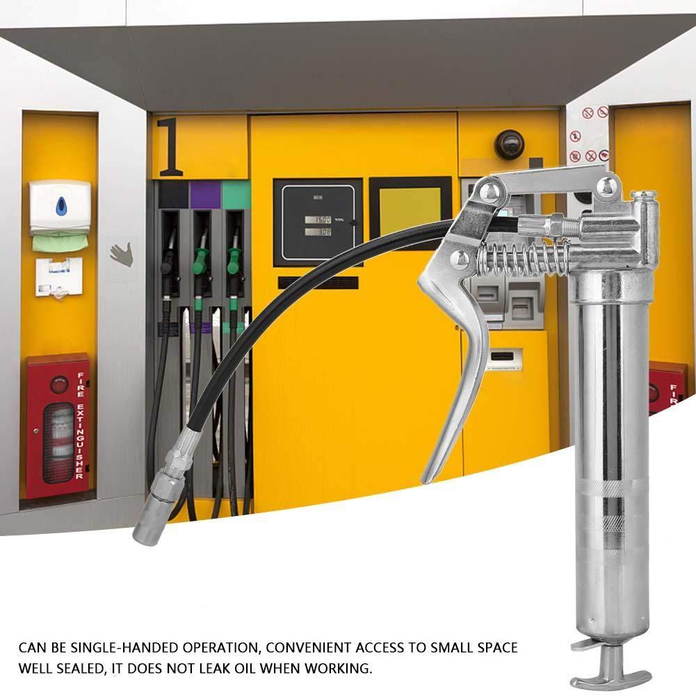 Ingrassatore a pistola ingrassaggio cartuccia pneumatica per grasso ad alta pressione attrezzo manuale con flessibile