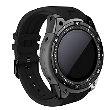 KLAYL Reloj Inteligente Bluetooth SmartWatch X100 Android 5.1 ...