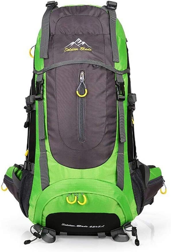 Color : Dark Blue, Size : L Travel Backpack Large Capacity Travel Outdoor Mountaineering Bag USB Charging Waterproof Shoulder Sports Backpack
