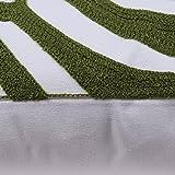 Bridgeso Square Throw Pillow Cover Cotton Linen