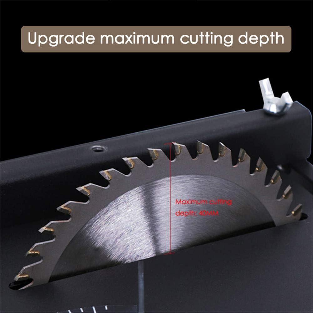 Mini Table de Sciage TOPQSC 300W Table de scie /él/évatrice Profondeur de coupe de 40 mm Pour lartisanat de mod/èle en bois bricolage /à la main