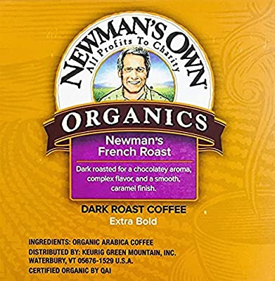 Newman's Own Organics French Roast K - Cups (54 Count)