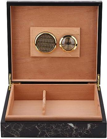 Fishlor Caja de cigarros de Madera, Caja de Cigarrillos Vintage Mini humidor portátil Caja de cigarros Caja de Almacenamiento de contenedores de Cigarrillos de Madera(Mármol): Amazon.es: Hogar