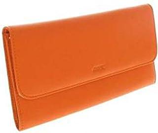 Fancil - Compagnon portefeuille tout-en-un en cuir orange
