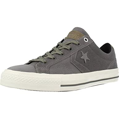 8546af3185b094 Amazon.com  Converse Star Player Premium Leather Ox Mens Sneakers ...
