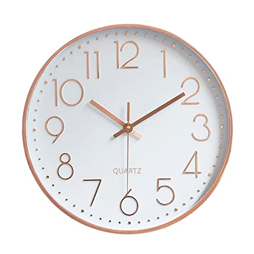 Foxtop 12 Inch Universal Silent Non Ticking Roman Numeral