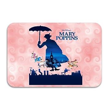 sarht Mary Poppins Parrot paraguas Julie Andrews Logo antideslizante Felpudo