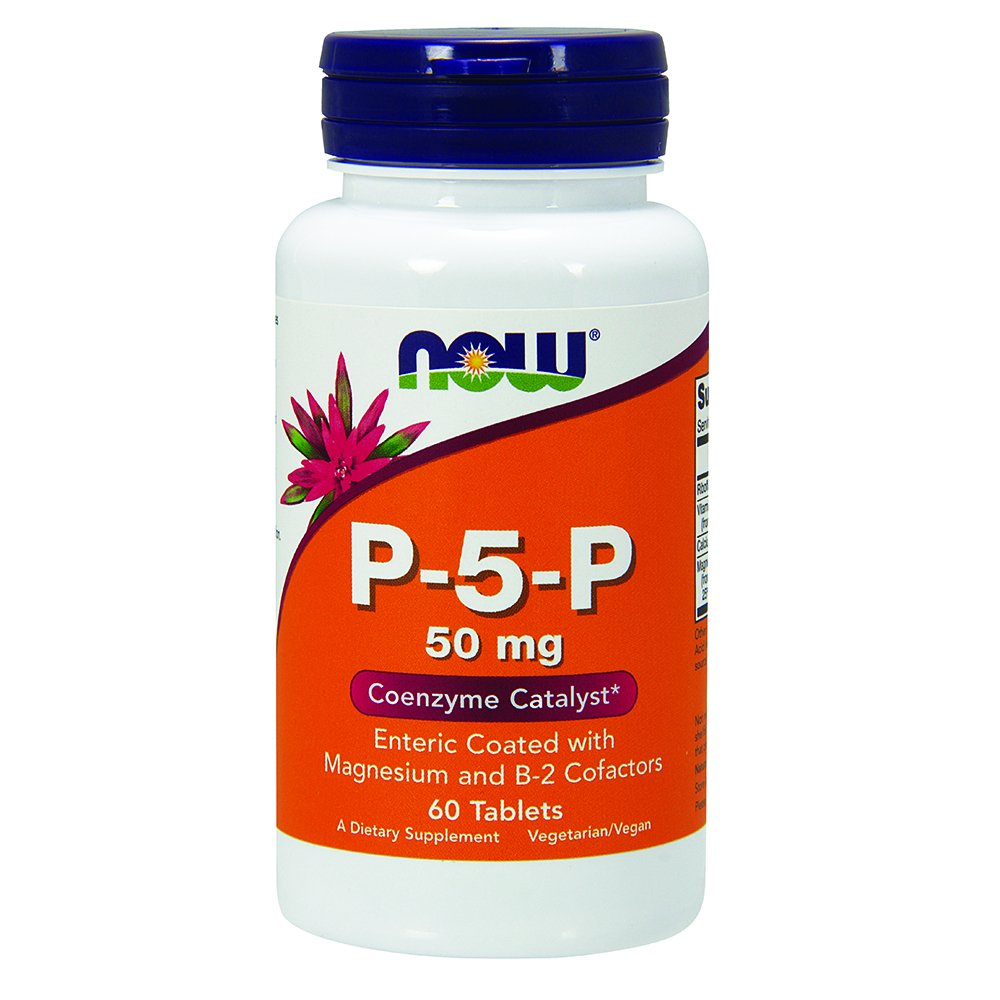 NOW P-5-P 50 mg,60 Tablets