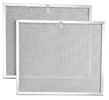 Broan BPS2FA30 Replacement Filters for 30-Inch QS2 and WS2 Range Hoods, Aluminum, 2-Pack