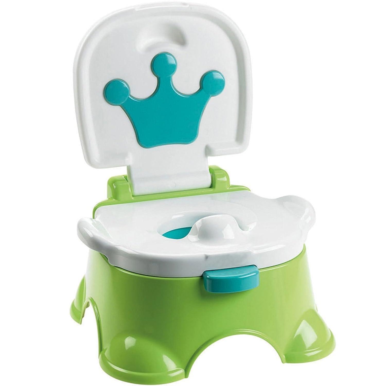multiware Baby T/öpfchen Kleinkind WC-Kids gr/ün Musik T/öpfchen Training Sitz