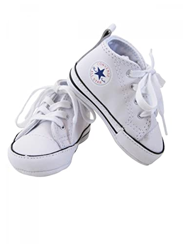 7974295dbe500 Converse-Baskets All Star Cuir Blanc bébé Fille  Amazon.fr ...