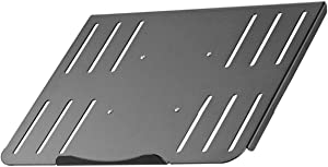 suptek Laptop Notebook Steel Tray Platform (Tray Only) for VESA Mount Stand | Fits 100 mm Plate Holes (TP004)