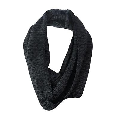 05ac5e48f265 Hiver chaude pour homme Maille épaisse Snood Écharpe tour de cou pour  écharpe tour de cou - Bleu - Taille unique  Amazon.fr  Vêtements et  accessoires