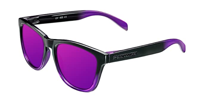 Northweek Unisex-Erwachsene Sonnenbrille Gradiant, Mehrfarbig (Morado), 52