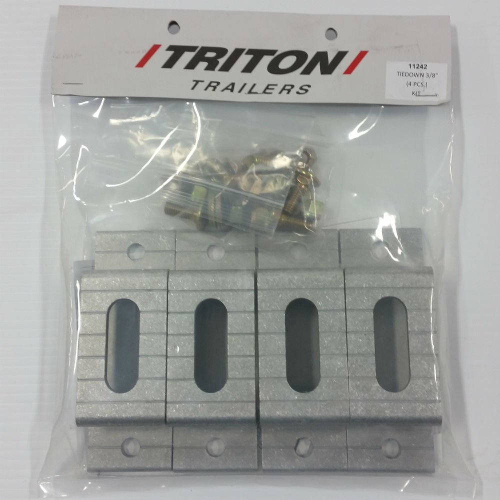 Triton 11242 3/8-inch Tie Down Kit (Set of 4)