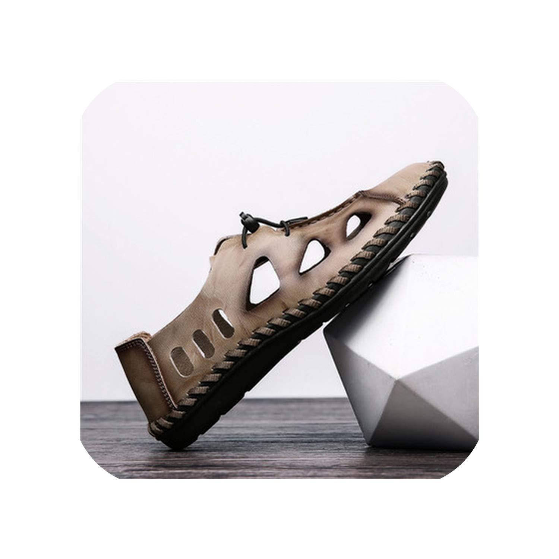 Khaki Style Sandals Breathable Hole Outdoor Men shoes