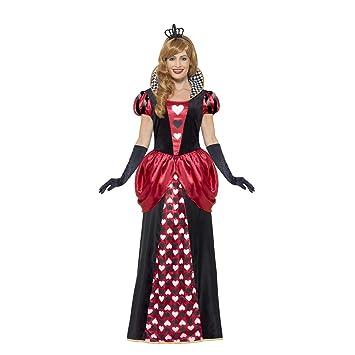 Amakando Encantador Disfraz de Cuento de Hadas Reina de Corazones ...