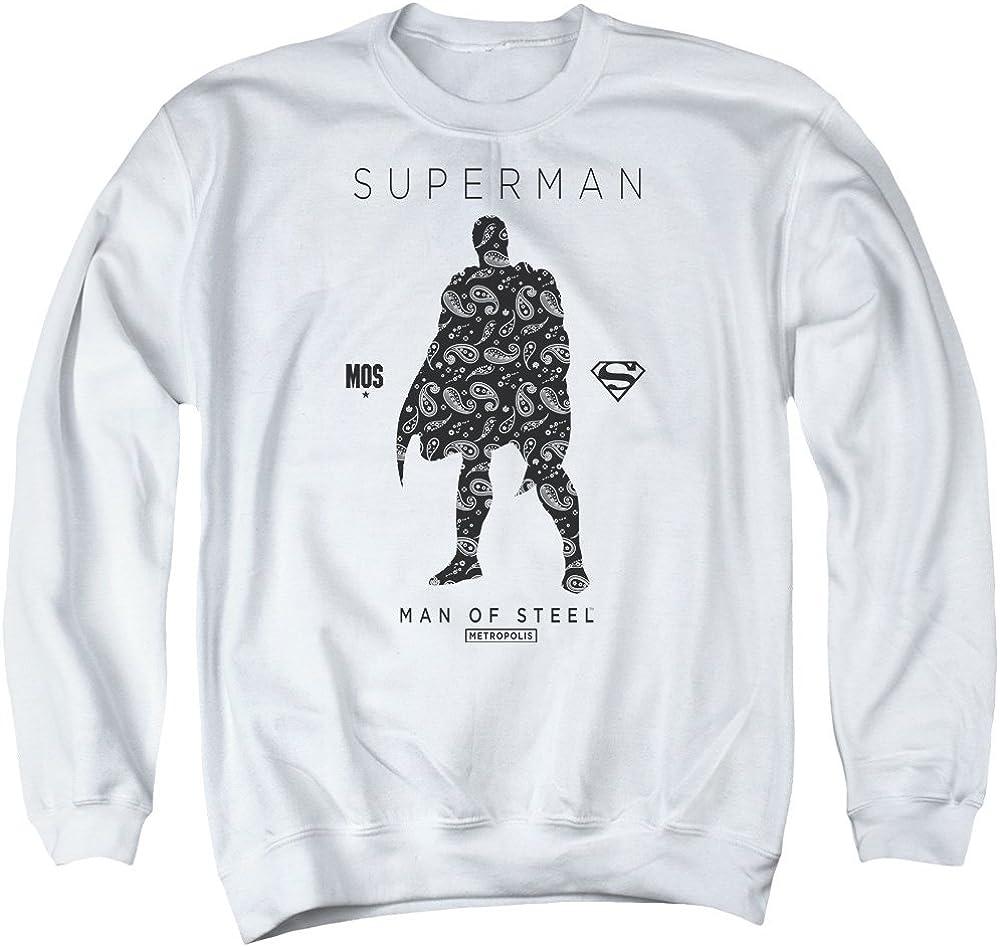 Superman Logo Adult Crewneck Sweatshirt