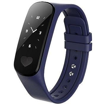 Q&M B9 ECG + PPG Salud Reloj Inteligente Ritmo cardiaco Monitor de presión Arterial Banda Inteligente
