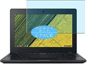 [2 Pack] Synvy Anti Blue Light Screen Protector Compatible with ACER Chromebook 11 C771-C4TM C771T-C1WS 11.6