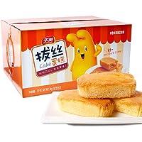华美 拔丝蛋糕1000g 整箱装(亚马逊自营商品, 由供应商配送)