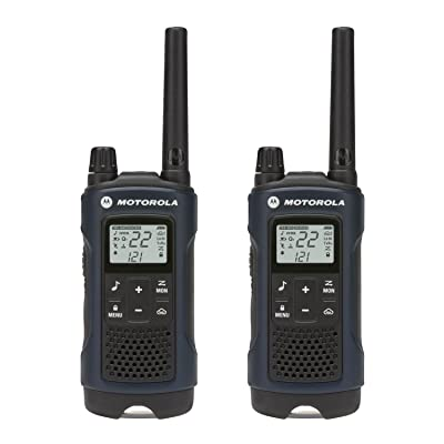 Motorola Talkabout T460 Rechargeable Two-Way Radio Pair (Dark Blue)
