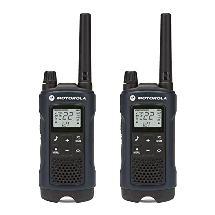 motorola talkabout. motorola talkabout t460 rechargeable two-way radio pair (dark blue)