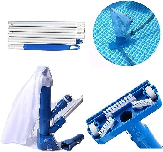 Juego de limpiador de piscina Lay Z Spa Filter limpiador de jacuzzi, portátil para piscina, aspiradora, accesorios de limpieza para piscina, fuente de spa, piscina, bañera de hidromasaje: Amazon.es: Hogar