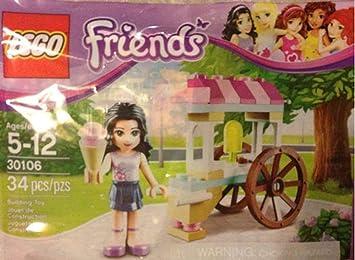 LEGO Friends: Emmas Ice Cream Stand Establecer 30106 (Bolsas)