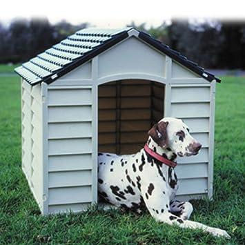 Caseta perro resina 90 x 92 x 90 cm. kennel f.burgos