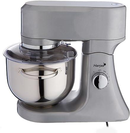 Harper I MIX SILVER - Robot de cocina, 1000 W, color gris: Amazon.es: Hogar